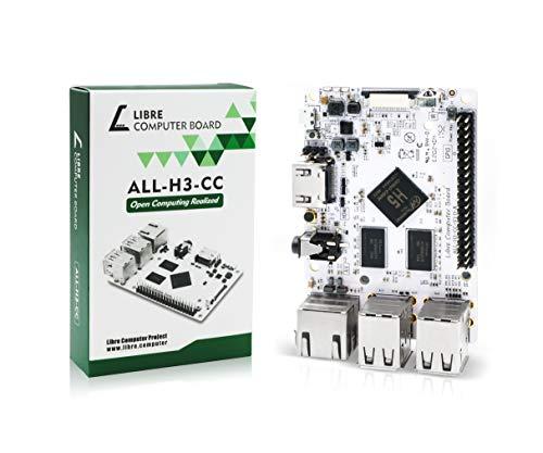 Libre Computer Board ALL-H3-CC H5 2GB (Tritium) Mini Computer with Upstream Free Open Source Software Support (Single Board Computer Linux)