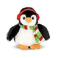 Bearington Flurry Plush Stuffed Animal Penguin, 6 inches
