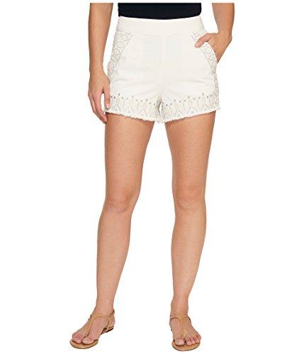 失態砂利異常な[ブランクニューヨークシティー] Blank NYC レディース Embroidered Shorts in Snow Flake パンツ Snow Flake 27 [並行輸入品]
