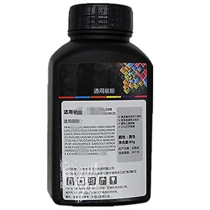 1 Paquete de 100 g de Tinta Negra para impresoras de tóner ...