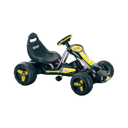 Lil' Rider Black Stealth Pedal Powered Go-Kart by Lil' Rider