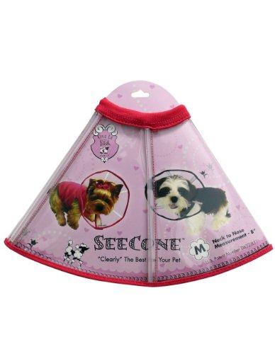 Viva La Dog Spa SeeCone for Dogs, Medium, Pink