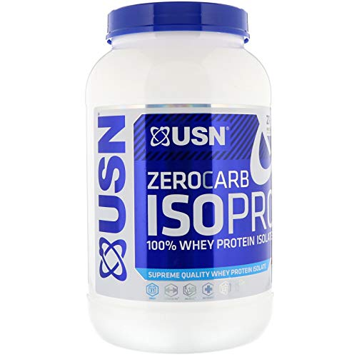 (USN Supplements Zero Carb Isopro 100% Whey Protein, Apple Pie, 1.7 Pound)