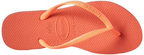 Flop Sandal Havaianas Women's Flip Slim Cyber Orange zqgvASFwx