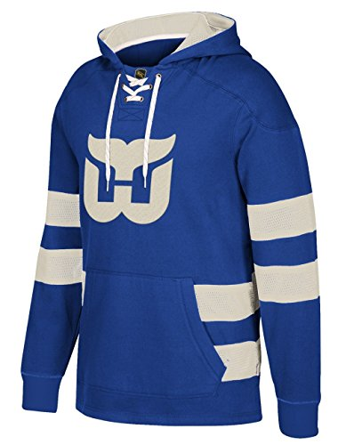Hartford Whalers CCM Pullover Jersey Hoody (X-Large) (Hartford Whalers Game)