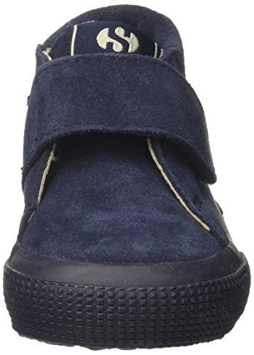 Superga S001NW0 - Zapatos de cordones para niños BLUE LT GRAPEMIST