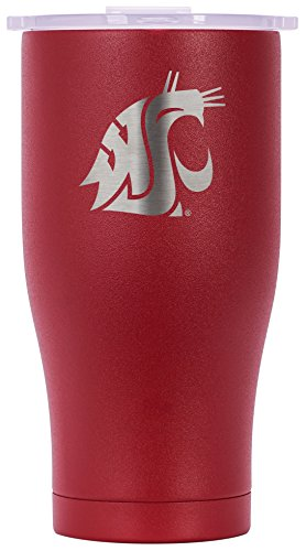 ORCA Chaser Laser Etched Washington State Cooler, Crimson, 27 oz by ORCA