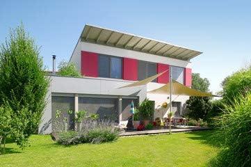 Casa de madera con diseño de jardín (8387724), lona, 90 x 60 cm: Amazon.es: Hogar