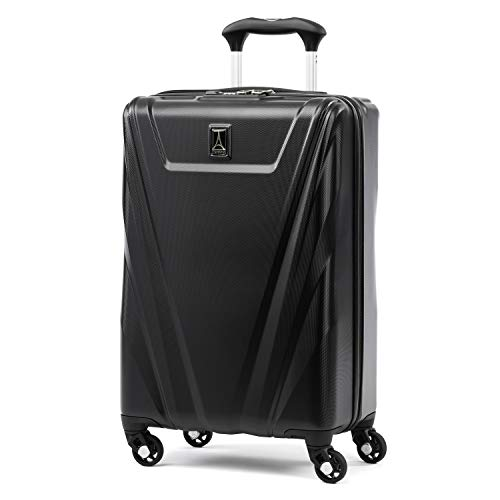 Spinner 21 Case (Travelpro Maxlite 5 Carry-on Spinner Hardside Luggage, Black)