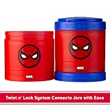 Whiskware Marvel Stackable Snack Pack, Captain