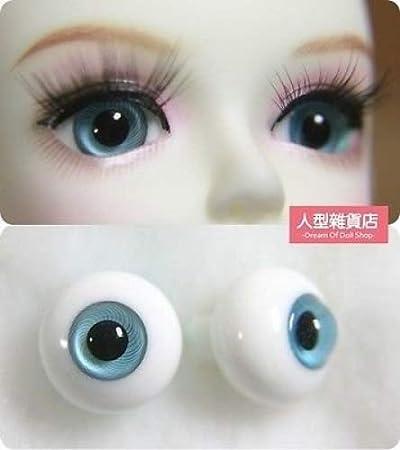 12mm 14mm 16mm For BJD DOD AOD MK OK RD Doll Dollfie Glass Eyes Outfit Grey blue A4L7QM91L770H