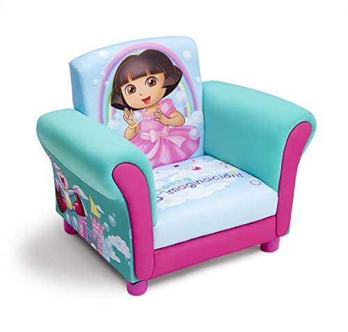 Delta Children Upholstered Chair, Nick Jr. Dora The Explorer