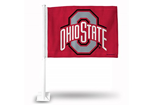 (Rico Industries NCAA Ohio State Buckeyes Car Flag)