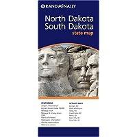 Rand Mcnally North Dakota/South Dakota State Map