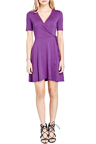 Jersey Double V-Neck Dress - 6