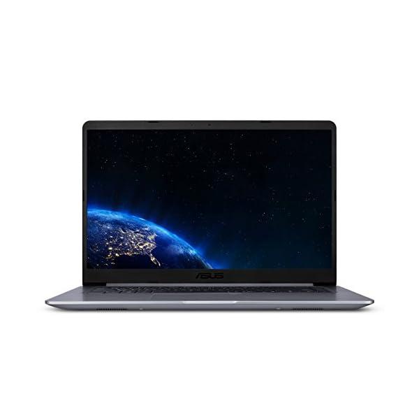 "ASUS VivoBook 15.6"" WideView FHD Laptop, AMD Quad Core A12-9720P, 4GB DDR4, 128GB SSD, HDMI, USB 3.1 Type-C, Chiclet Keyboard & Fingerprint Sensor, Win 10 S Mode 1"