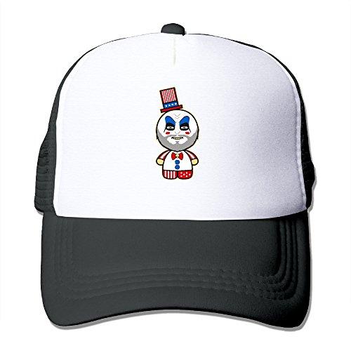 Cute Hello Riders Trucker Hat Mesh Cap Adjustable Snapback Strap Black