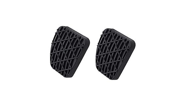 1 par de Embrague del Freno de Pedal Cubierta de Goma Negro Antideslizante Almohadilla de Repuesto para Mercedes Benz Vito 2012910282 Regard L: Amazon.es: ...