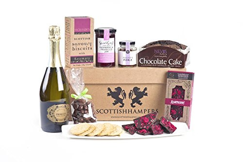 Scottish Hampers. A Special Lady. Scottish Gourmet Local produce Food & Drink Gift Hampers