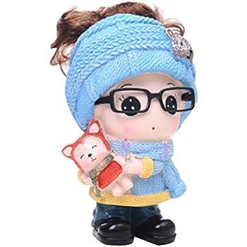 Amazon.com: Kylin Express Girl & Fox Piggy Bank for Saving