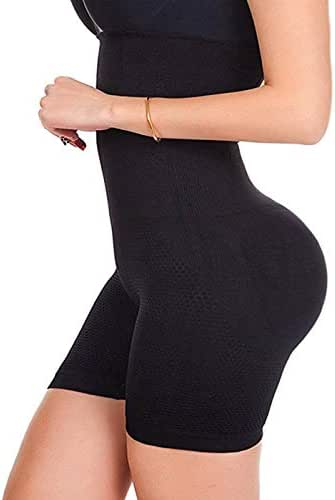 FUT Womens Shapewear Tummy Control Shorts High-Waist Panty Thigh Slimmers Body Shaper Bodysuit
