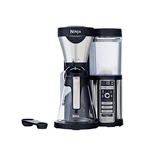 Ninja Coffee Bar Brewer, Glass Carafe, Silver (Certified Refurbished)