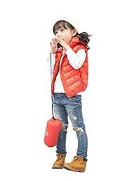 Janeyer Children Kids CHIC Hooded Winter Outwear Lightweight Vest Jacket