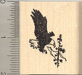 Eagle Rubber Stamps Kritters In The Mailbox Bald Eagle Rubber Stamps