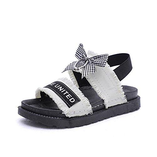 estivi Donyyyy Bow seven donna Thirty sandali tie scarpe filtro SSqRrYw
