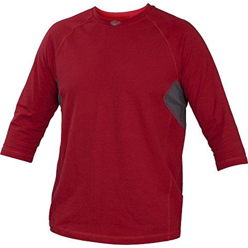 Rawlings Sporting Goods Adult 3/4 Sleeve Performance Shirt