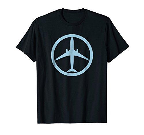 (Airbus A330 (Blue) Jet Airplane Pilot Aviation T-Shirt )