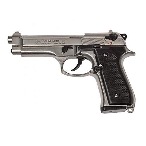 BRUNI leere pistole BERETTA 92 Kaliber 9mm PAK 0.00 JOULE keine Lizenz