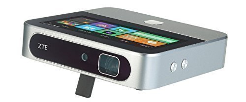 "ZTE SPRO2 Verizon Android Projector with 5"" LCD Touch Display, Wifi, and Verizon 4G LTE Hot Spot and Cellular Connectivity"