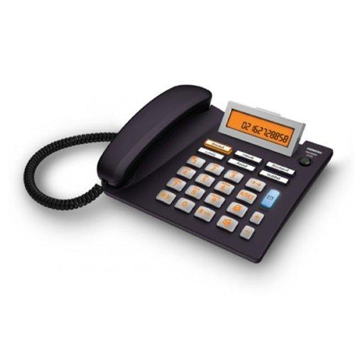 46 opinioni per Gigaset Euroset 5040 Telefono Fisso Tasti Grandi, Sensore di Prossimità,