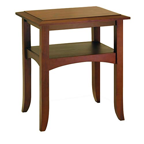 Winsome Wood 94723 Craftsman Occasional Table, Antique Walnut