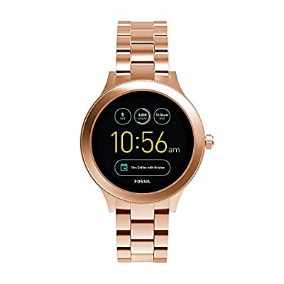 Fossil Q Women's Gen 3 Venture Stainless Steel Smartwatch, Color: Rose Gold-Tone (Model: FTW6000) from Fossil Connected Watches Child Code