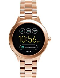 Q Women's Gen 3 Venture Stainless Steel Smartwatch, Color: Rose Gold-Tone (Model: FTW6000)