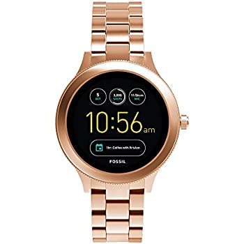 Amazon.com: Fossil Q Wander Gen 2 Stainless Steel ...