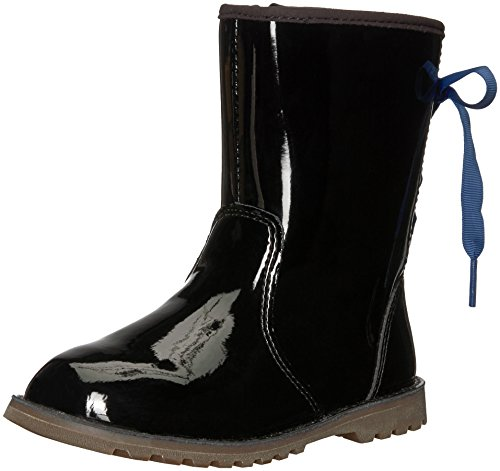 UGG Girls' T Corene Patent Fashion Boot, Black, 9 M US Toddler ()