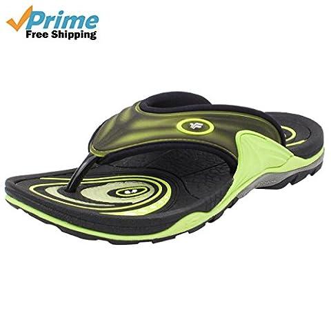 GP5804 Men's Active Flip Flop, Prime-Neon Green, EU40 (Green Flip Flops)