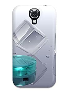 Galaxy S4 Case, Premium Protective Case With Awesome Look - Icy