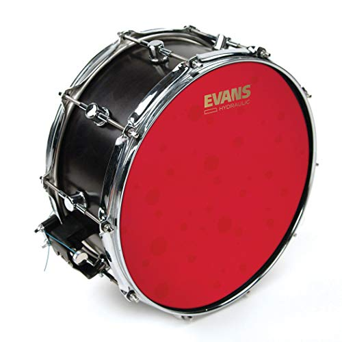 Evans Hydraulic Red Coated Snare 14-Inch (B14HR) (Renewed)