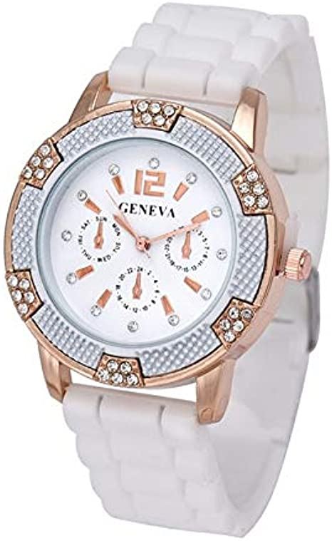 Reloj De Pulsera para Mujer Fashion Lady Dress Fashion Lady'S Watch Geneva Quartz con Reloj De Cuarzo Analógico