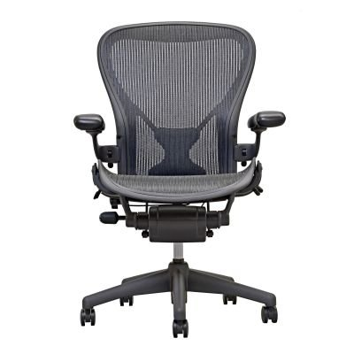 Herman Miller Aeron Chair Size B Fully Loaded Posture (Herman Miller Office Table)