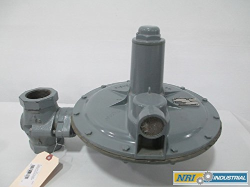 NEW FISHER S202 GAS 150 IRON THREADED 2 IN NPT PRESSURE REGULATOR VALVE D269490