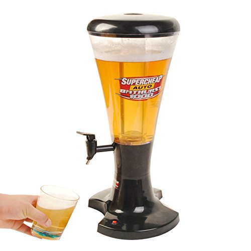 3l Draft Beer Tower Dispenser Plastic with LED Lights New by Halothailand