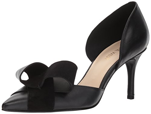 Black Nine West Women's MCFALLY Pumps Leather YqzHwqC