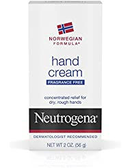 Neutrogena Norwegian Formula Hand Cream Fragrance Free, 2 Oz (Pack of 6)