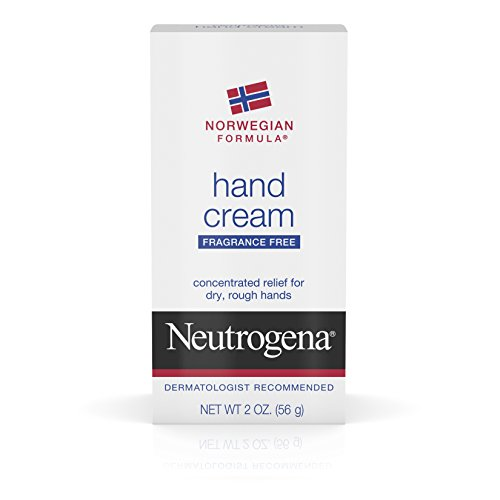 Neutrogena Norwegian Formula Hand Cream Fragrance Free, 2 Oz (Pack of 6)