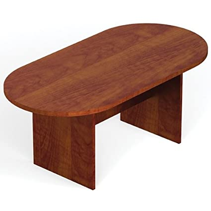Amazoncom Offices To Go Superior Laminate Oval Conference Table - Oval conference table for 6
